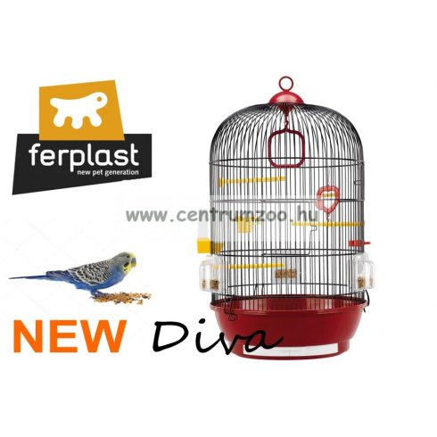 Ferplast Diva Nero papagáj, pinty, kanári kalit (51056811)