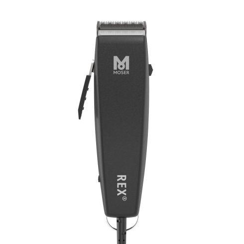 Moser Rex Animal Black Clipper 15W kutyanyíró gép (1230-0078)  2020NEW kiadás + AJÁNDÉK