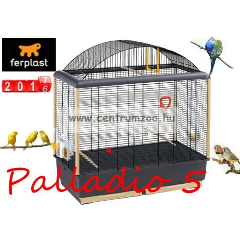 Ferplast Palladio 5 New felszerelt kalitka (52063811) 2019NEW