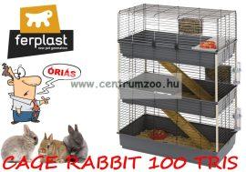 Ferplast Rabbit 100 Tris full felszerelt óriás ketrec (57048517ZP)