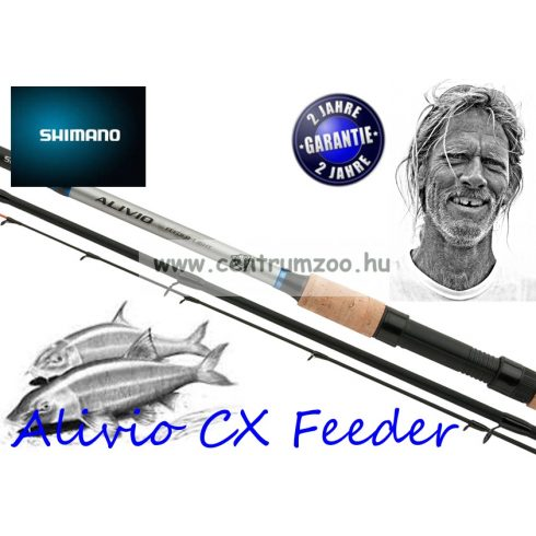 Shimano bot Alivio CX Medium Feeder 12' 3,60m 100g (ALCXMFDR)