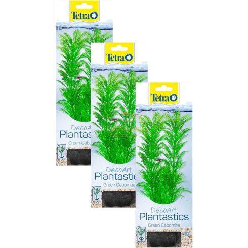 """TETRA Dekoart Plantastics Green Cabomba műnövény 3-as """"L"""" 30cm"""
