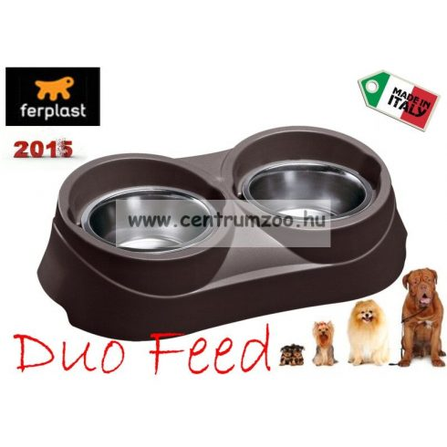 Ferplast Duo Feed 01 NEW dupla tál (71701021)