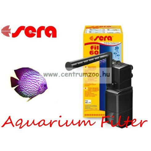 Sera Fil  60 belsőszűrő max  60 liter akváriumig 7W 380l/h (006843)